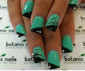 beauty, nails, and botanic nails image