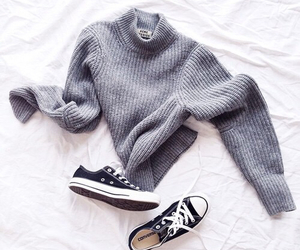 aesthetic, sweater, and ootd image
