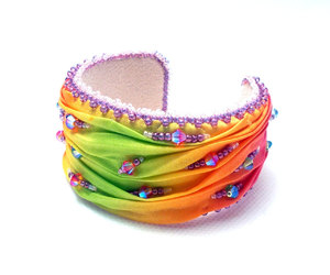 bracelet, summer, and cuff image
