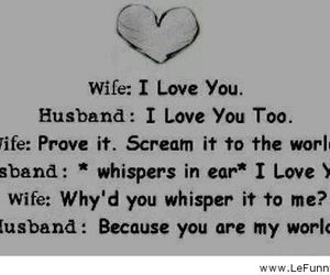 love, wife, and husband image