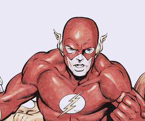 comics, DC, and flash image