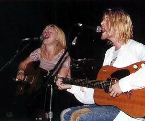 Courtney Love, grunge, and kurt cobain image