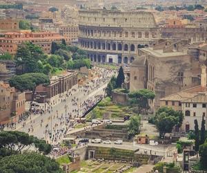 italy, rome, and italia image