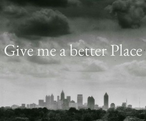 better place, future, and dark city image