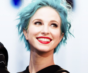 hayley williams, paramore, and blue image