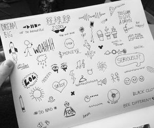 drawing, art, and tumblr image
