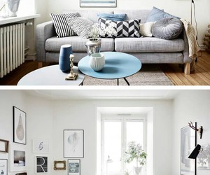 couch, living room, and home image