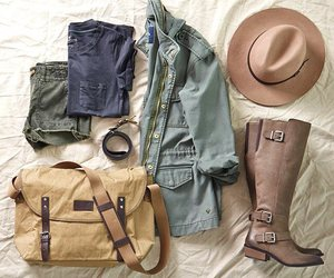 lifestyle, outfit, and safari image