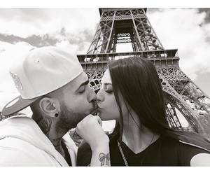 beauty, kiss, and couple image