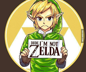 link, zelda, and funny image