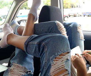 car, chill, and chilled image