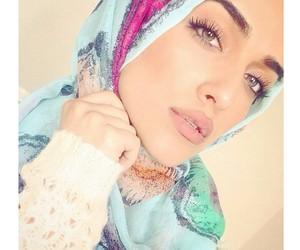 beautiful and hijab image