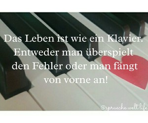 klavier, spruch, and piano image