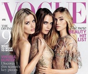 model, cara delevingne, and vogue image