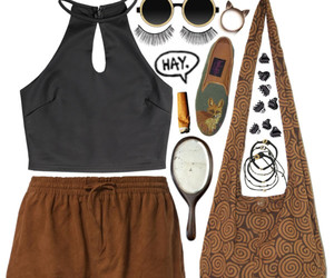 clothes, hay, and outfit image