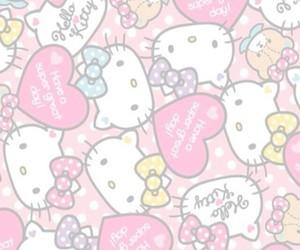 wallpaper, hello kitty, and kawaii image