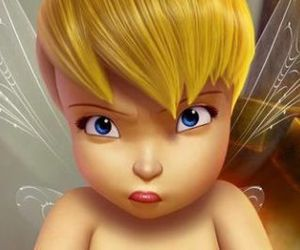animation, disney, and tinkerbell image
