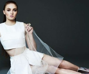 Stil, sophie turner, and white image