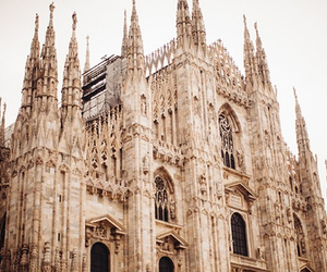 architecture, milan, and vintage image