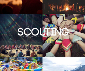 amazing, scout, and camp image