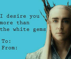 funny, hobbit, and thranduil image