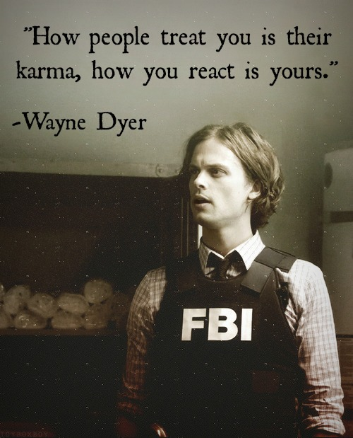 Image about quote in criminal minds by Linda_Targaryen