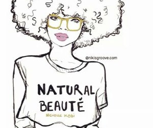 Afro, boho, and don't care image