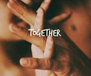 couple, hands, and together image