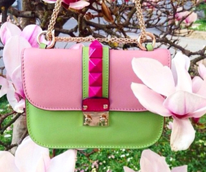 pink, spring, and Valentino image