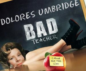 harry potter, dolores umbridge, and bad teacher image