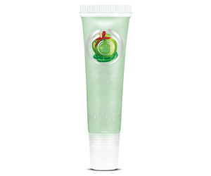 body shop, candy apple, and lip gloss image