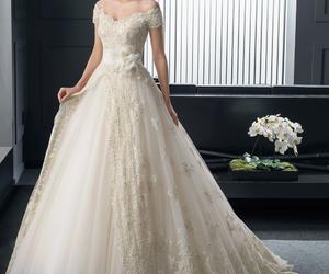 dress and wedding dress image