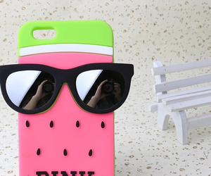 case, iphone case, and pink image