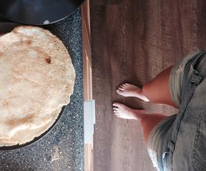 baking, food, and pancakes image