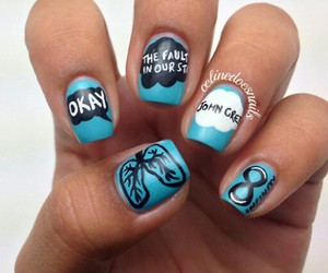 nails, the fault in our stars, and tfios image