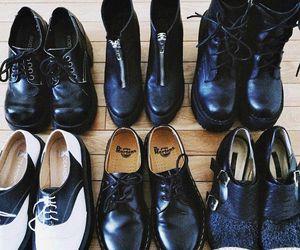 grunge, shoes, and fashion image