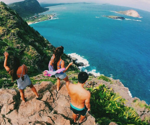 summer, friends, and travel image
