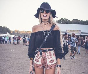 fashion, outfit, and festival image