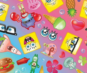 wallpaper and bob esponja image