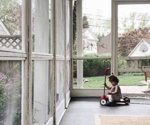 baby, boy, and garden image