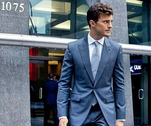 jamie, christian grey, and Jamie Dornan image