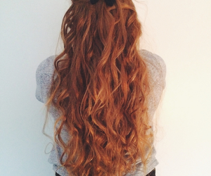 bow, curly, and ginger image