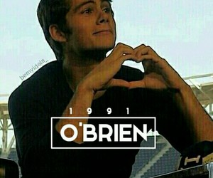 dylan o'brien, 1991, and love image