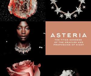 greek mythology and asteria image