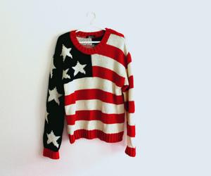 fashion, sweater, and usa image