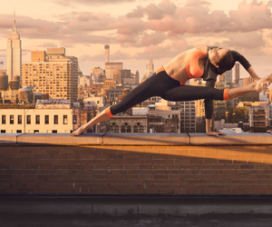 empire state building, fitness, and nyc image