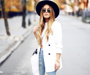 style, hat, and outfit image