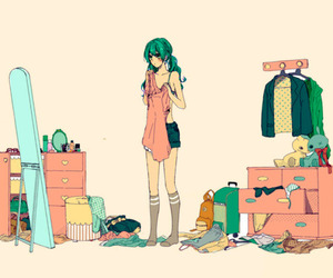 anime, art, and clothes image