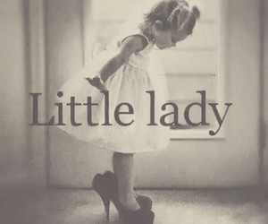 lady and little image