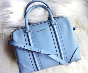 bag, fashion, and blue image